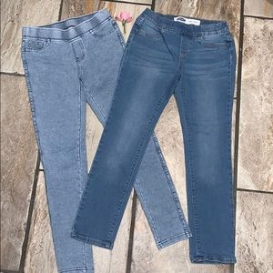 2/$15 Girls Jeggings and Jeans